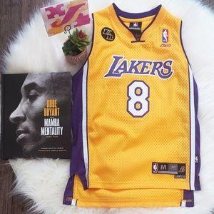 Lakers kobe#8 Jersey M Youth/ S Women's